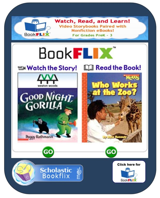 Bookflix button