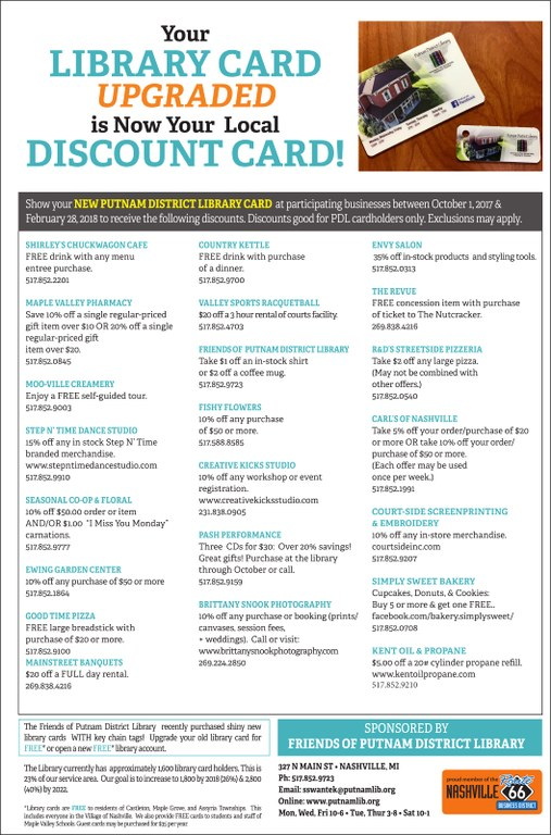 Shop Local Discounts